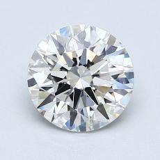 推荐宝石 2:1.21克拉圆形切割钻石