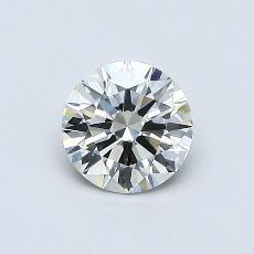 0.50 Carat 圓形 Diamond 理想 J SI2