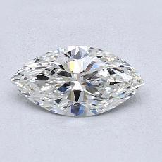 0.73 Carat 榄尖形 Diamond 非常好 H VS2