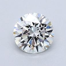 1,01-Carat Round Diamond Ideal G VVS1