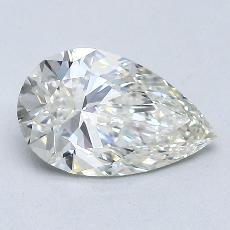 Target Stone: 1.21-Carat Pear Cut Diamond