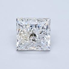 1.00-Carat Princess Diamond Very Good E VS1