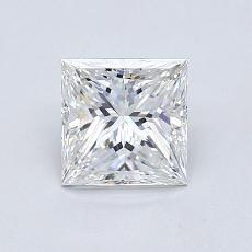 推薦鑽石 #4: 0.92  克拉公主方形鑽石