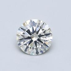 推荐宝石 2:0.63 克拉圆形切割