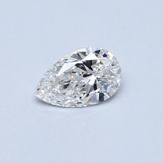 0.30 Carat 梨形 Diamond 非常好 F VS1