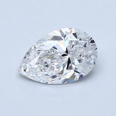 Recommended Stone #3: 0.80-Carat Pear Cut Diamond