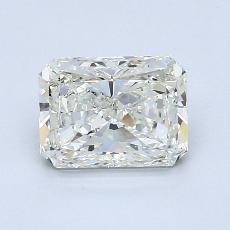 1,50 Carat Radiant Diamond Très bonne J VS2