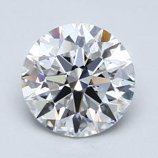 1,50-Carat Round Diamond Ideal E VS2