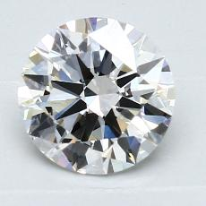 1.50 Carat 圓形 Diamond 理想 H VS1