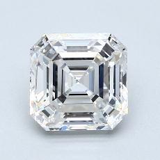 Recommended Stone #3: 2.04-Carat Asscher Cut Diamond