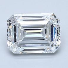 Recommended Stone #2: 2.01-Carat Emerald Cut Diamond