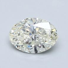 推荐宝石 1:1.01 克拉椭圆形切割