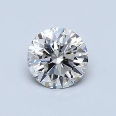 0.72-Carat Round Diamond Ideal I VS1
