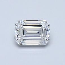 Recommended Stone #3: 0,70-Carat Emerald Cut