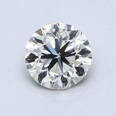 0.90 Carat Redondo Diamond Muy buena I VS1
