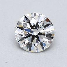 0.78-Carat Round Diamond Ideal G VVS2