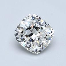 1.03-Carat Cushion Diamond Very Good G VVS1