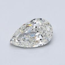 0,70-Carat Pear Diamond Very Good I SI2