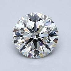 1,20 Carat Rond Diamond Idéale H VS2