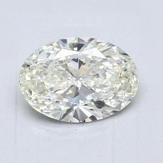 1.01 Carat 椭圆形 Diamond 非常好 K SI1