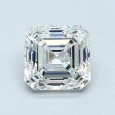 1.22-Carat Asscher Diamond Very Good F VS1