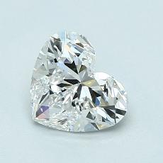Recommended Stone #3: 1,03-Carat Heart Cut Diamond