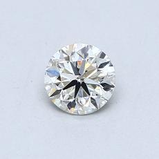 推薦鑽石 #3: 0.41 克拉圓形切割鑽石