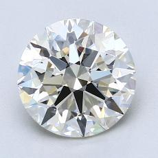 推薦鑽石 #4: 2.11  克拉圓形 Cut