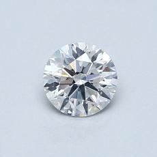 0.52 Carat 圆形 Diamond 理想 E SI1
