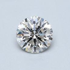 0.60 Carat 圓形 Diamond 理想 H VS2
