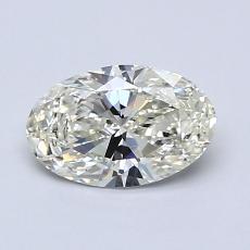 0.81-Carat Oval Diamond Very Good K SI2