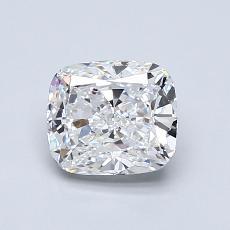 推荐宝石 2:1.06 克拉垫形钻石