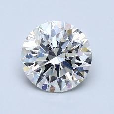 1.22-Carat Round Diamond Ideal H VVS2