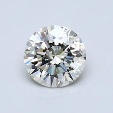 0.80-Carat Round Diamond Ideal K SI2