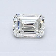 Recommended Stone #4: 0.61-Carat Emerald Cut Diamond
