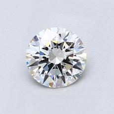 0.71 Carat 圆形 Diamond 理想 H VS1