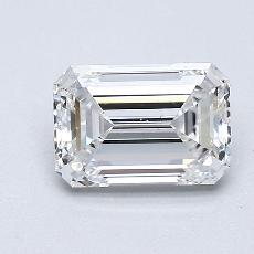 Recommended Stone #4: 1,05-Carat Emerald Cut Diamond