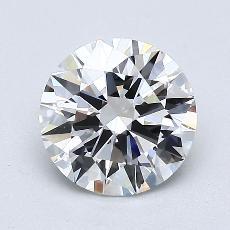 1.21 Carat 圆形 Diamond 理想 G VS1
