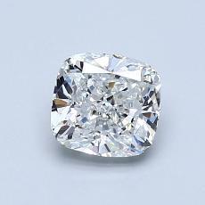 推荐宝石 2:1.01 克拉垫形钻石