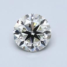 1.00 Carat 圆形 Diamond 非常好 K VS1