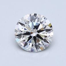 1.00 Carat 圆形 Diamond 理想 H VVS2