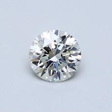 0.50 Carat 圆形 Diamond 理想 I VS2