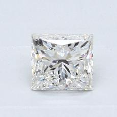 Recommended Stone #1: 0,82-Carat Princess Cut Diamond
