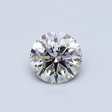 0.50 Carat 圓形 Diamond 理想 J VVS2
