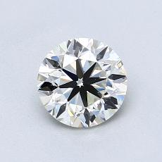 0.90-Carat Round Diamond Very Good I VS1