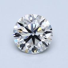 1.02 Carat 圆形 Diamond 非常好 E VS1