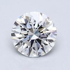 1.30 Carat 圆形 Diamond 理想 G VVS1