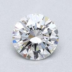 1.00 Carat 圆形 Diamond 理想 F VS1
