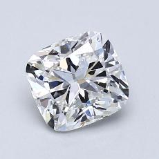 Recommended Stone #1: 1,23-Carat Cushion Cut Diamond