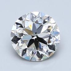 推薦鑽石 #1: 2.00  克拉圓形 Cut